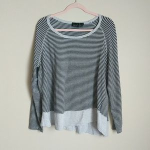 Kersh Striped Sweatshirt